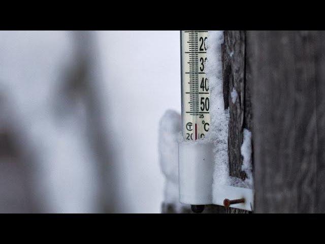 Морозы в Якутии до -65 градусов