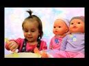 ❀ Видео с куклой пупсик Видео для детей играем в дочки матери Игрушки для Девоче...