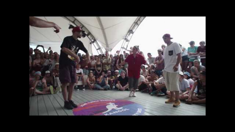 Scream Robin VS Rezkiy Rocket / TOP ROCK / Yalta Summer Jam 2017