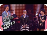 Bruno Mars - Locked Out Of Heaven (Thea, Sean, Finn) The Voice Kids 2013 Battle SAT.1