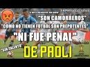 (Comentarista ENOJADO) Gremio 1 Lanús 0 (Relato Rodolfo De Paoli) 2017 | Final (Ida)