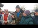 Стихийный протест под Светлогорском Cтыхійны мітынг пад Светлагорскам Травя