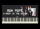 Ron Pope - A Drop In The Ocean - Piano Tutorial by Amadeus (Synthesia)