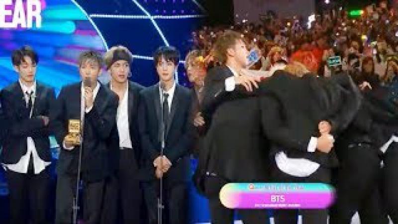 171201 MAMA 2017 Mejor Artista del Año Artist of the Year Daesang Hong Kong BTS EXO TWICE got7