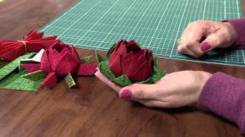 Mulher.com 28/06/2013 Claudia Niero - Origami em tecido Parte 2/2