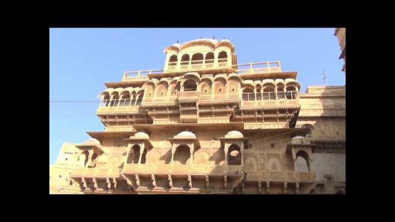 Die goldene Stadt Jaisalmer in der Wüste Thar Rajastan Indien