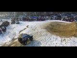 Кубок Маслова 2017,С высоты птичьего полёта.Джип гонка 4X4 на озере сайран.