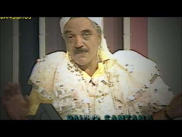 RBS TV: Paulo Sant'Ana de baiana no