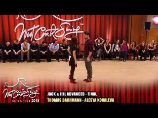 BudaFest 2018 - Advanced Final - Thomas Bachmann - Alesya Kovaleva