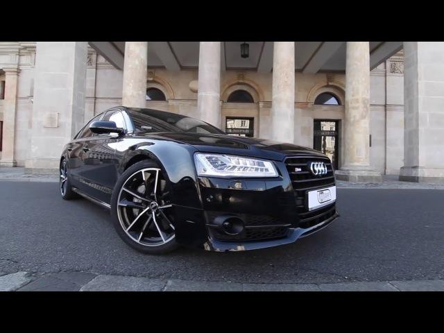 Audi S8 Plus 2017. Тест драйв