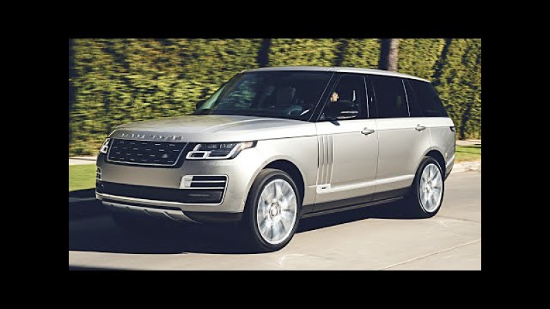 2018 Range Rover SVAutobiography interior, exterior, and drive - (LUXURY SUV FIRST CLASS RIDE)