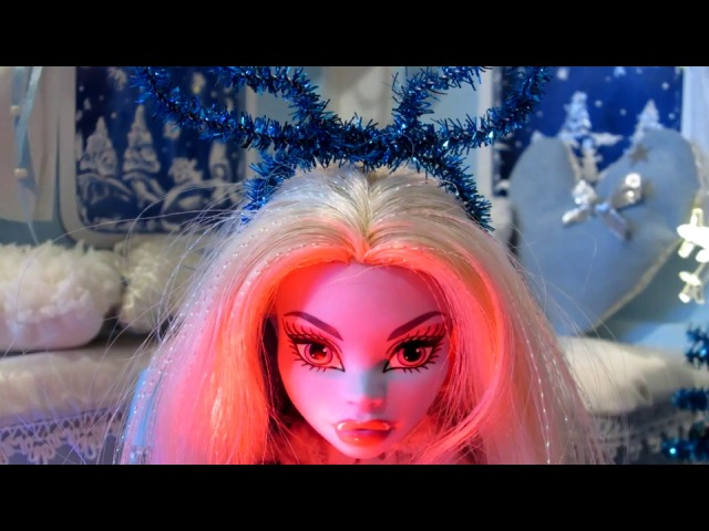 С Новым Годом Монстр Хай стоп моушен Merry Christmas Monster high stop motion