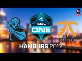 NewBee vs Fnatic RU (bo1) ESL One Hamburg 2017 Major 26.10.2017