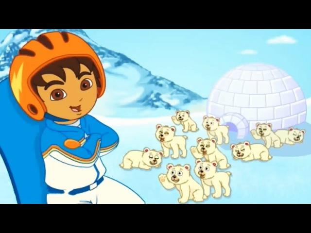 Go Diego GO! Snowboard Rescue Games for kids Online