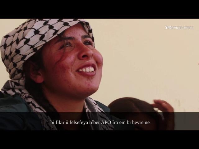 Блокпост YPG до его выноса летучим отрядом ИГ