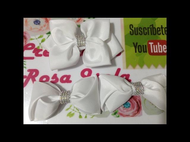 Petición de lazos sencillos ideales para clausuras escolares VIDEO No. 462creaciones rosaisela