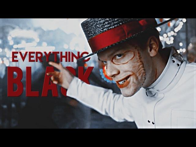 Everything black (BDAY COLLAB)
