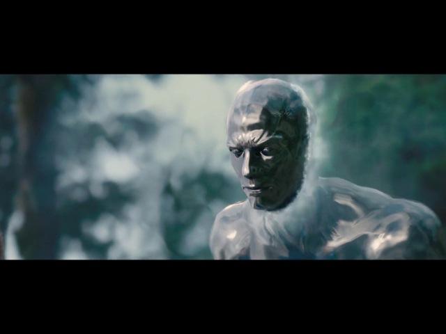 Серебряный Сёрфер знакомство со Сьюзи Шторм | Фантастическая Четверка 2 (2007)