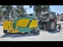 HAMARAT HMT 2000 аналог ПТП ЧИСТОГОР прицеп тракторный подметальный самозагружающий