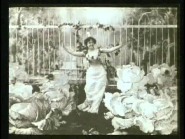 The Cabbage Fairy (1896) - 1st Female Filmmaker - ALICE GUY BLACHE - La Fee aux Choux