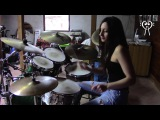 IRON MAIDEN - HALLOWED BE THY NAME - DRUM COVER by CHIARA COTUGNO