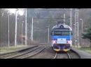 Šocení Vlaky na zastávce Teplice nad Bečvou 27 12 2017