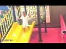 Mainan di Taman Bermain Anak ✪ Baby Ali icel Main Perosotan Di Kids Zone Playground KFC Gelael Tebet