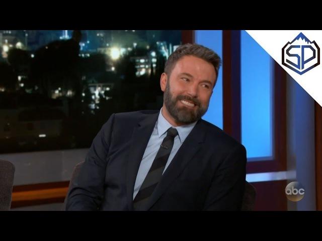 Бен Аффлек о детской травме, пробах на роль Робина и костюме Бэтмена
