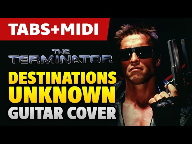 The Terminator (Sega CD) – Destinations Unknown (acoustic fingerstyle guitar and MIDI by Kaminari)