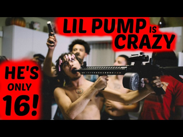 LIL PUMP IS ACTUALLY CRAZY! HAS 6 GUNS AND A DRACO AT ONLY 16 YEARS OLD! Lil Pump and Smokepurpp!