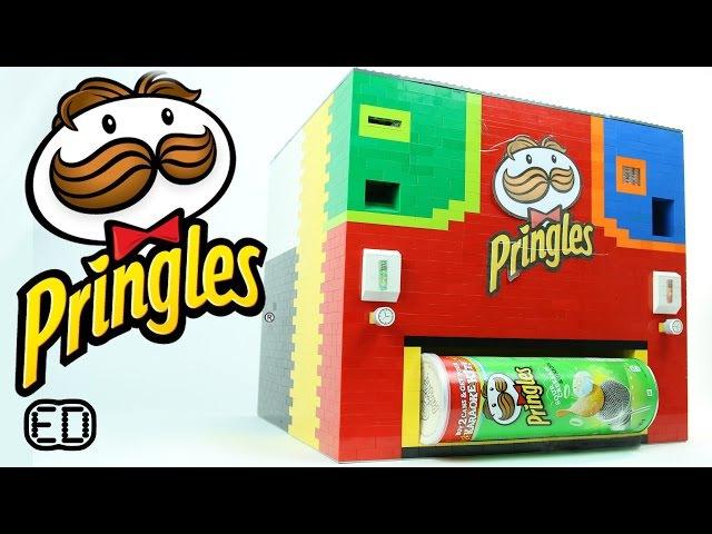 Lego Pringles Machine   Original and Sour Cream Onion
