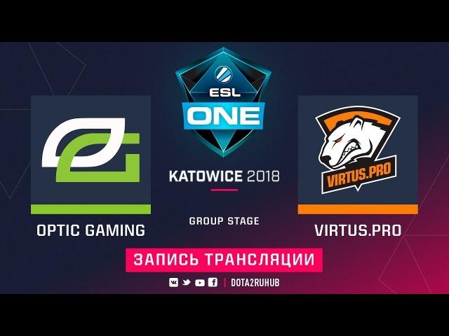 OpTic vs Virtus.pro, ESL One Katowice [Mila, Mortalles]