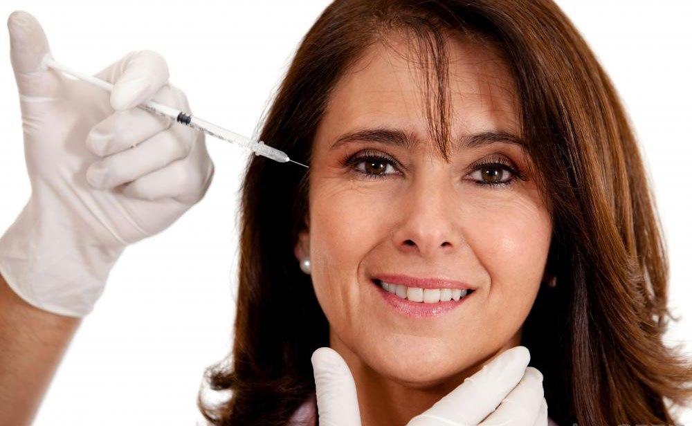 Люди обычно получают инъекции Botox® вокруг глаз.