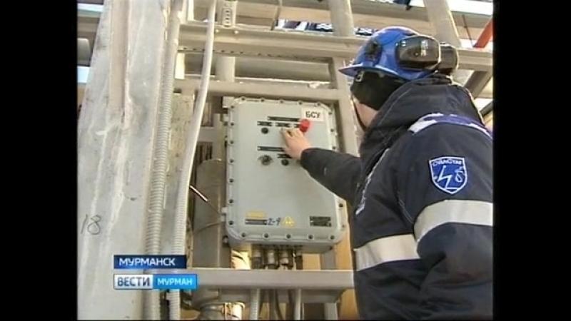 ГТРК Мурман: На самой большой в Мурманской области котельной заработала система беспарового слива мазута