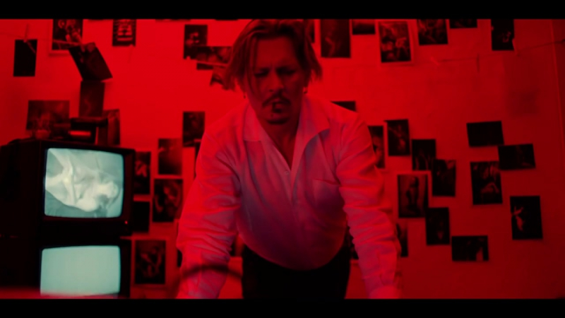 Marilyn Manson – KILL4ME (starring Johnny Depp)