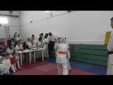 Девочки 11-12 лет Захарова Полина-Попова Виктория(выйграла) Бой за 3 место
