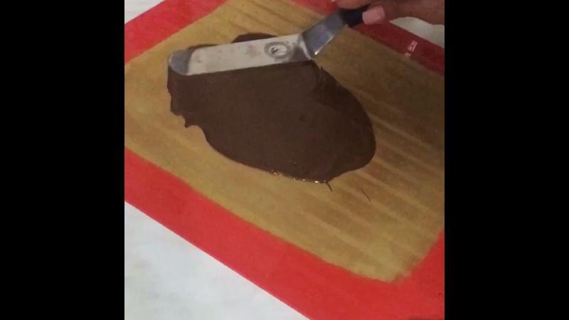 Шоколадный парус и кандурин 👍