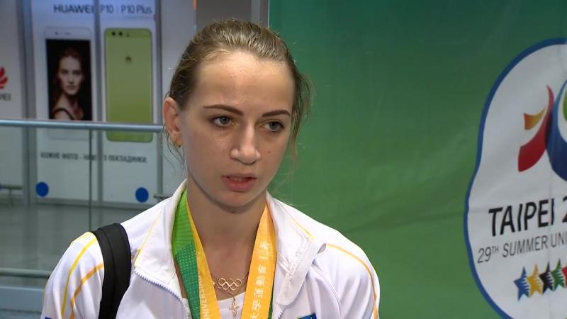 Валерия Гудым об Универсиаде-2017 - Xsport.ua