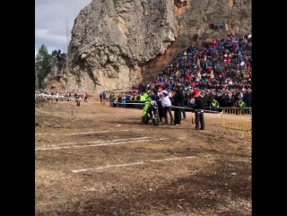 Mario Roman. Final hillclimb Hixpania 2017.