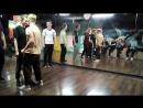 Электр-ночь в студии LBE 18-11-17 часть 5. Дружеский батл вторая половина Дима vs Катя 1 раунд