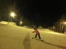 Настя Саша. День влюбленных в снег) Крайний спуск.