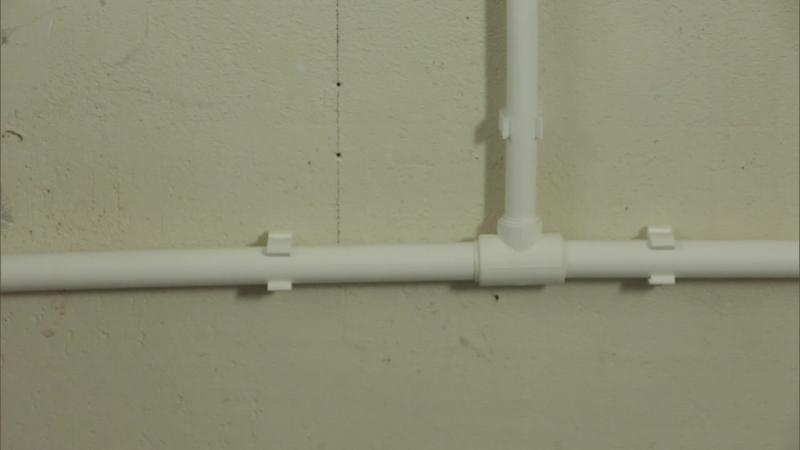 Как смонтировать тройниковую схему подводки воды