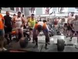 Пейман Махери - тяга 405 кг