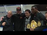 Гассиев вернул пояс WBA Дортикосу после боя| BoxingRoom