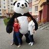 Панда на праздник