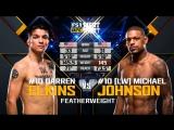 UFC FIGHT NIGHT ST. LOUIS Darren Elkins vs Michael Johnson