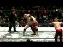 Okami (Daichi Hashimoto, Hideyoshi Kamitani) vs. Ryuichi Kawakami, Yoshihisa Uto (BJW - 30.12.2017)