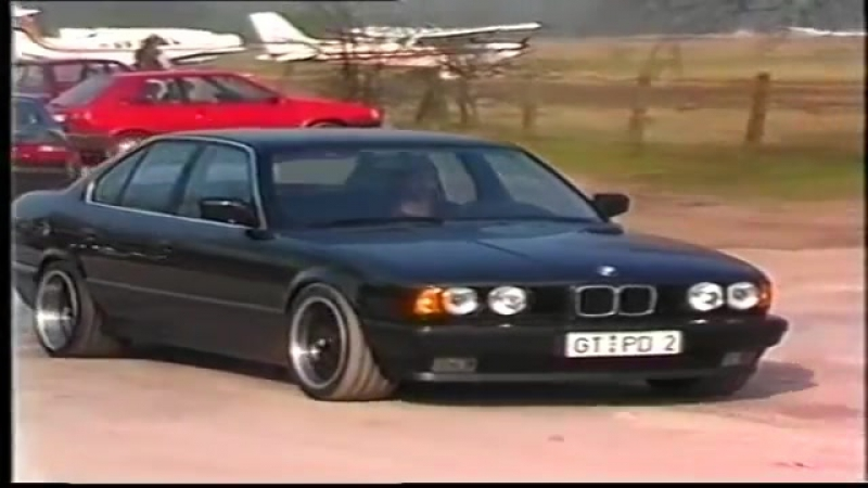 Car-Styling Tuning Werbefilm 1992 Mercedes W124 BMW 5er etc