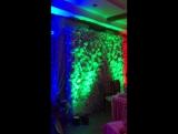 Свадьба, оформление, свет, диско