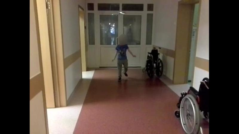 Пациент после курса реабилитации со специалистом Центра Д.Киселёв